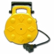 Bayco - SL8903 - Retractable Cord Reel - Metal - 3 Outlets - 13amp