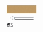 3M - 68717 - Scotchcal Striping Tape, 1/4 inch, Tan