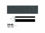 3M - 72463 - Scotchcal Striping Tape, Charcoal Metallic, 1/2 in x 150 ft