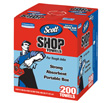 Scott - 75190 - Shop Towels, 1 Box, 200CT