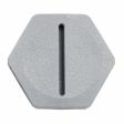 Trucklite - 50830 - 50 Series Gray Filler Plug