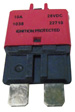 Bussmann - CB227-10 - Type III ATC Low-Profile Circuit Breaker - 10A - Red
