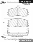 Centric - 105.04840 - Ceramic Brake Pads