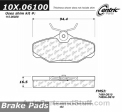 Centric - 105.06100 - Ceramic Brake Pads