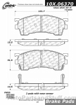 Centric - 105.06370 - Ceramic Brake Pads