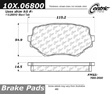 Centric - 105.06800 - Ceramic Brake Pads
