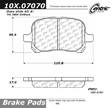 Centric - 105.07070 - Ceramic Brake Pads