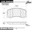 Centric - 105.09040 - Ceramic Brake Pads
