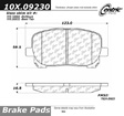 Centric - 105.09230 - Ceramic Brake Pads