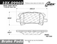 Centric - 105.09960 - Ceramic Brake Pads