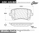 Centric - 105.10180 - Ceramic Brake Pads