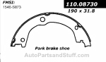 Centric - 111.08730 - Centric Brake Shoes