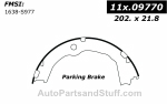 Centric - 111.09770 - Centric Brake Shoes
