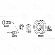 Four Seasons - 45910 - Pulley Bearing
