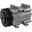 Four Seasons - 58124 - New Ford FS10 Compressor w/ Clutch