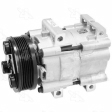 Four Seasons - 58168 - Compressor New /Ford FS10