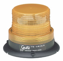 Grote - 77103 - Yellow Mighty Mini-Strobe