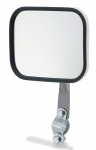 Grote - 28051 - White Rectangular Mirror Assembly