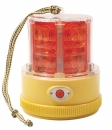 Grote - 77912 - 360 Degree Portable Battery Operated LED Warning Light