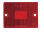 Grote - 91112 - Replacment Lens, Red, Side Marker, For Under 80