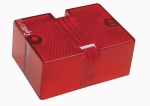 Grote - 91122 - Replacment Lens, Red, Side Marker, For Over 80