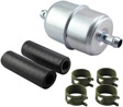 Hastings Filters - GF4 - In-Line Fuel Filter with Clamps and Hoses