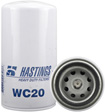 Hastings Filters - WC20 - Coolant Spin-on with BTA PLUS Formula