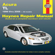 Instructional Reference Acura
