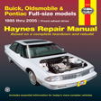 Haynes - 19020 - Buick / Olds / Pont.Full-Size (FWD)  '85-'05