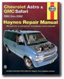 Haynes - 24010 - Chevrolet Astro & GMC Safari Mini Van  '85-'05