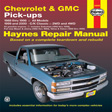 Haynes - 24065 - Chevrolet & GMC Pick-up '88-'98 and C/K Classic '99-'00