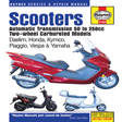 Haynes - 2760 - Twist and Go (automatic transmission) Scooters