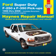 Haynes - 36060 - Ford Super Duty Pick-up & Excursion '99-'06