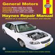 Haynes - 38026 - GM: Malibu, Alero, Cutlass & Grand Am, '97-'03