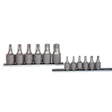 K Tools - 22801 - Socket Set, 12 Piece, 1/4