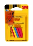 3M - 03825 - Heat Shrinkable Tubing, 03825, Assorted 5 pack