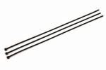 3M - 59304 - Standard Cable Tie CT15BK50-C, Black, Nylon, 50 lbs. tensile strength, 0.18 inch x 14.60 inch, 100 per bag