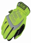 Mechanix Wear - SFF-91-009 - The Safety FastFit, HiViz Yellow - Medium