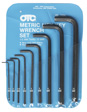 OTC - 7334 - Metric Hex Key Wrench Set
