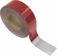 Peterson - 465-1 - Reflective Marking Tape 600 CP Red/White 2