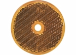 Peterson - B477A Amber Round Center-Mount Reflector