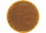 Peterson - B481A Amber Round Quick-Mount Reflector