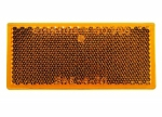 Peterson - B483A Amber Rectangular Quick-Mount Reflector
