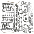 Sierra - 18-4356 - Powerhead Gasket Set
