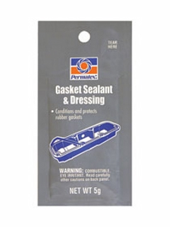 Permatex - 09974 - Single-Use Gasket Sealant & Dressing - 5 G Pouch - Each