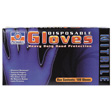 Permatex - 09186 - Disposable Blue 4 mil Nitrile Gloves, Xlarge
