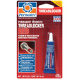 Permatex - 19962 - Permanent Strength Threadlocker RED, 6 ml tube