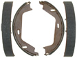Raybestos - 829PG - Parking Brake Shoe Set - Drum in Hat