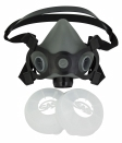 SAS - 311-3017 - BreatheMate Half Mask Respirator with Filter Retainer