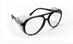 SAS - 5125 - Classic Safety Glasses (Black Frame w Clear Lens)